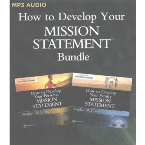 How to Develop Your Mission Statements Bundle : How to Develop Your Personal and Family Mission