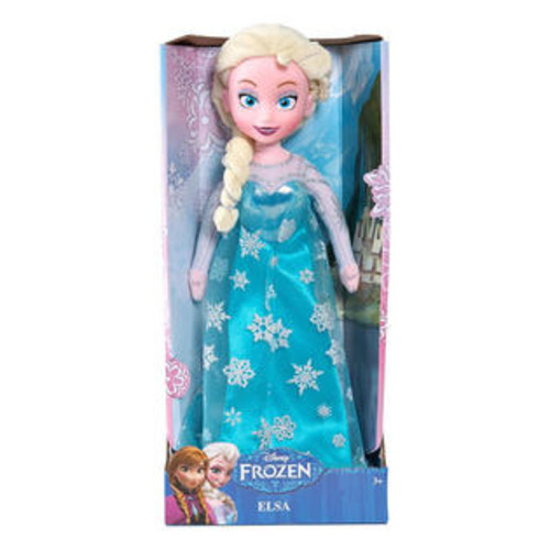 Just Play Disney Frozen Elsa Plush, Deluxe Medium 14 Doll