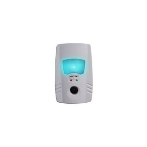 Pest-Free Ultrasonic AND Electromagnetic Pest Repellent with Night Light