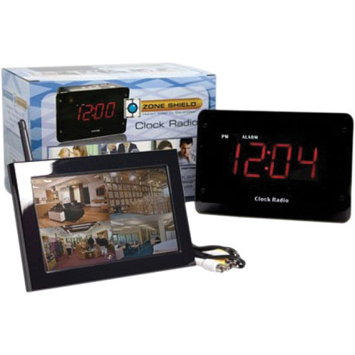 C1530 SleuthGear Clock Radio with QUAD LCD Receiver