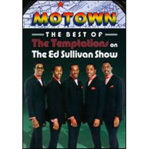 The Ed Sullivan Show: The Best of The Temptations on The Ed Sullivan Show B&W DD2