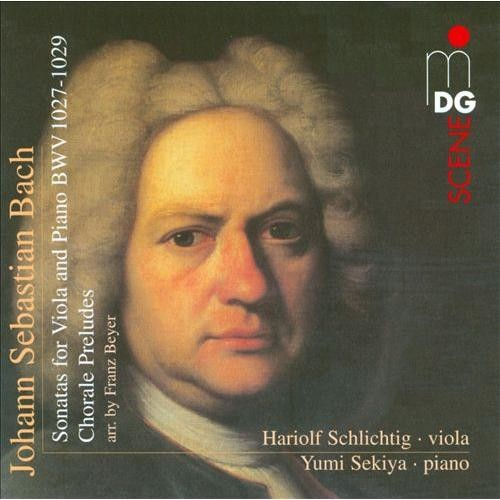 Bach: Sonatas for Viola and Piano, BWV 1027-1029; Chorale Preludes [Super Audio Hybrid CD]