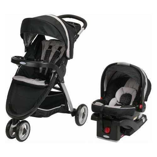 Graco FastAction Fold Sport Click Connect 35 Travel System Pierce