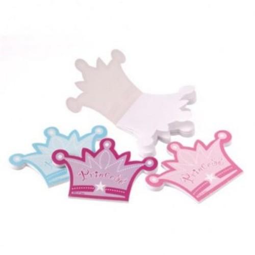 US Toy Princess Crown Memo Pads - 12 Per Pack - Pack of 28 (USTCYC173086)