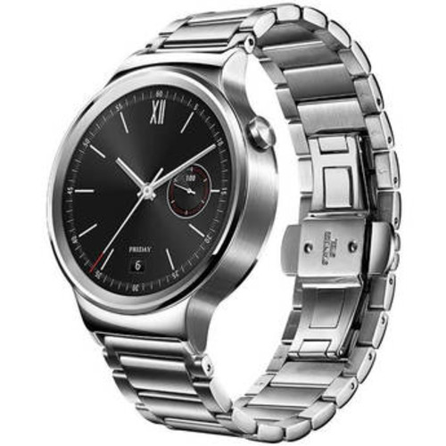 Watch 42mm Smartwatch (Stainless Steel, Stainless Steel Link Band)