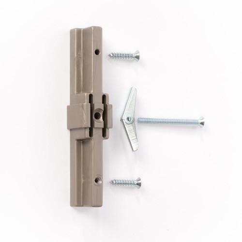 Closet Culture 30 in. Heavy Duty Standard Extension Kit in Champagne Nickel