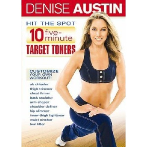 Denise Austin Hit the Spot Core (DVD)