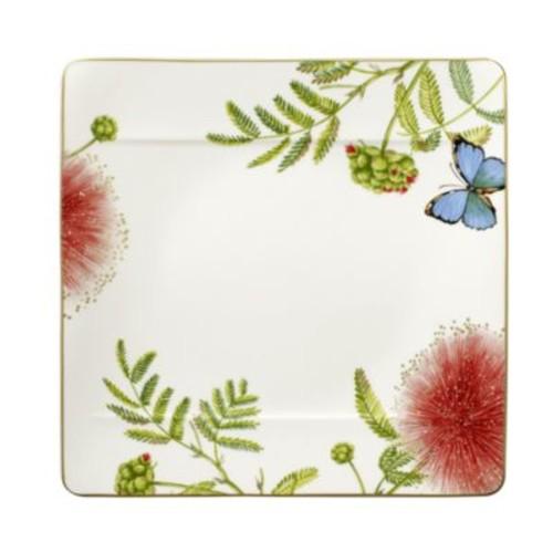 Amazonia Square Dinner Plate