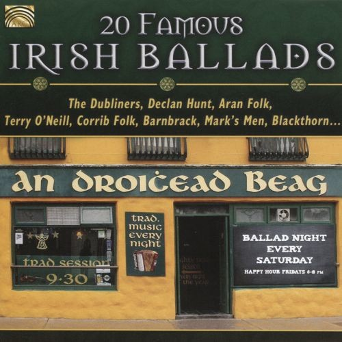 20 Famous Irish Ballads [CD]