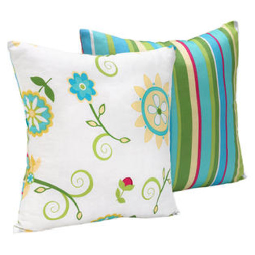 Sweet Jojo Designs Layla Decorative Pillow - DEC16-Layla
