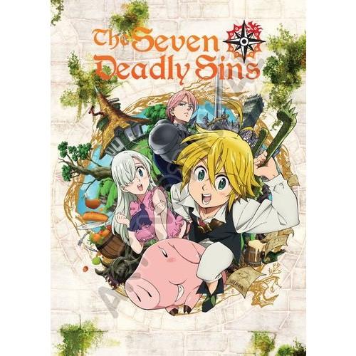 Seven Deadly Sins: Season One - Part One [4 Discs] [DVD]