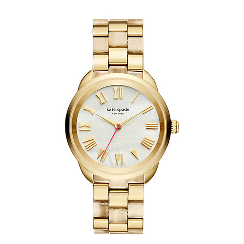 gold and horn crosstown watch