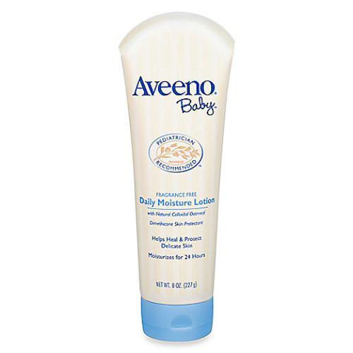 Aveeno 8 oz. Unscented Baby Lotion