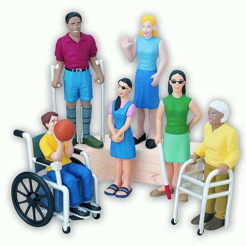 Marvel Education MTC-164 Friends with Diverse Abilities Figure Set, Grade: Kindergarten to 3