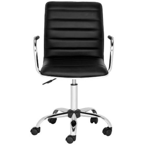 Suzy Desk Chair Black - Safavieh