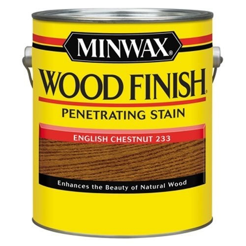 Minwax 710440000 Wood Finish Penetrating Stain, gallon, English Chestnut