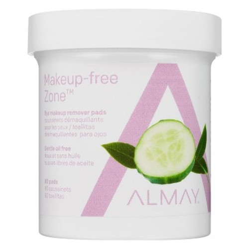 Almay Oil-Free Eye Makeup Remover Pads - 80ct