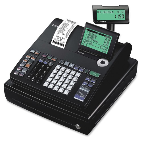 Casio PCRT500 Thermal Print Cash Register - 3,000 Lookups