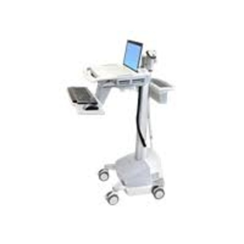 Ergotron StyleView - EMR Laptop Cart, SLA Powered - Cart for Notebook / keyboard / mouse / scanner