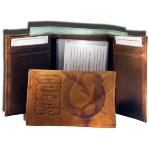 Rico NFL Indianapolis Colts Embossed Tri-Fold Wallet