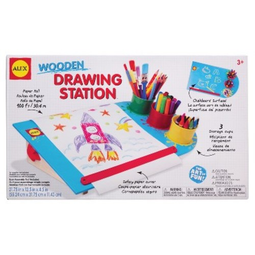 Alex Toys Artist Board Wooden Drawing Station
