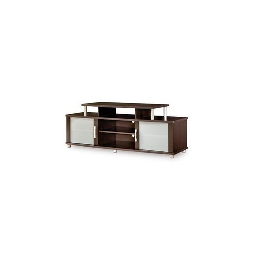 South Shore City Life Collection TV Stand Chocolate - 4219601