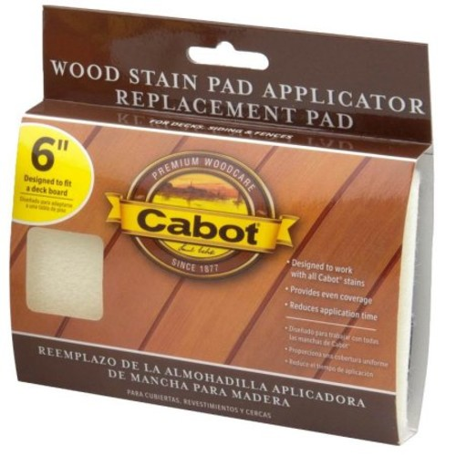 Cabot 63 Stain Applicator Pad Refill, 6 in L