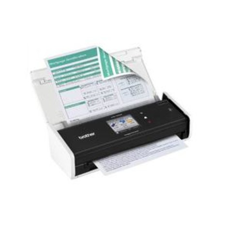 Brother International - ADS-1500W - Desktop Duplex Scanner
