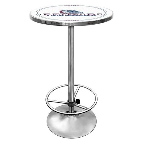Trademark Gonzaga University Chrome Pub/Bar Table