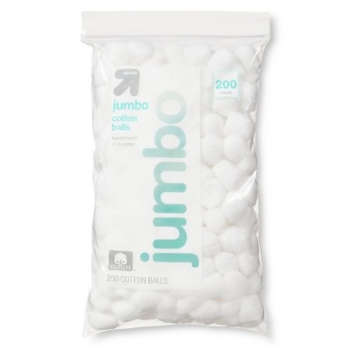 Jumbo Cotton Balls - 200 ct - up & up