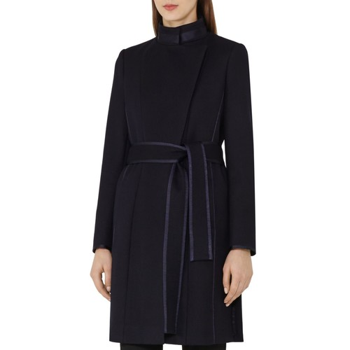 REISS Lucille Belted Wool Coat
