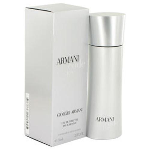Giorgio Armani Eau De Toilette Spray 2.5 Oz Armani Code Ice Cologne By Giorgio Armani For Men