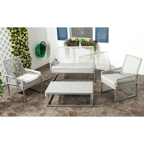 Safavieh Shawmont 4pc Outdoor Patio Set