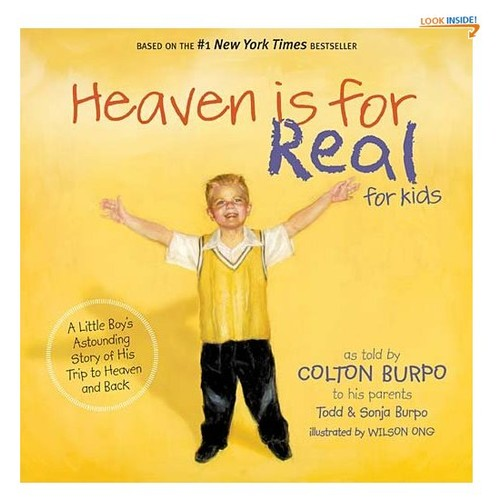 HEAVEN IS FOR REAL FOR KIDS (International Edition): A Little Boy's Astounding Story of His Trip to Heaven and Back