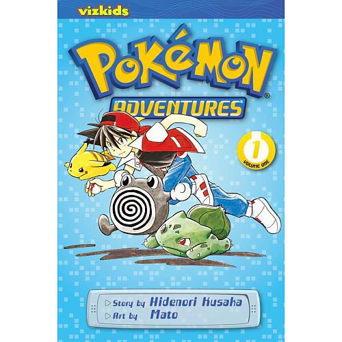 Pokemon Adventures Book Volume 1