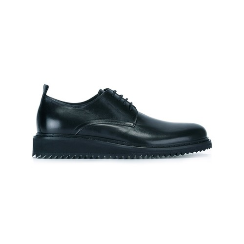 ANN DEMEULEMEESTER Slight Wedge Lace-Up Shoes