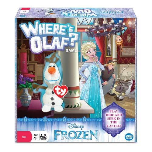 Disney Frozen Where's Olaf Game