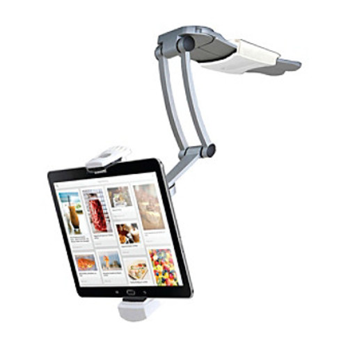 CTA Digital iPad and Tablet 2-in-1 Kitchen Mount Stand