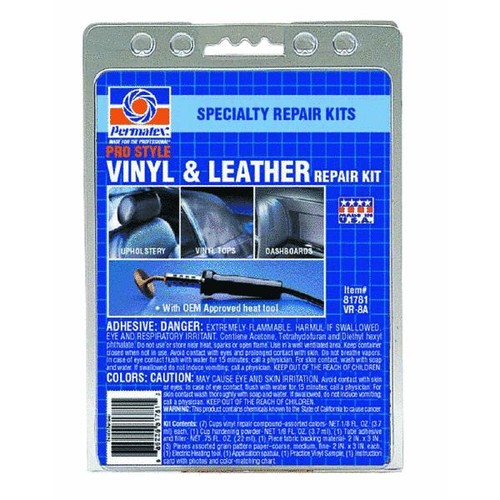 PERMATEX Pro Style Vinyl And Leather Repair Kit - 81781