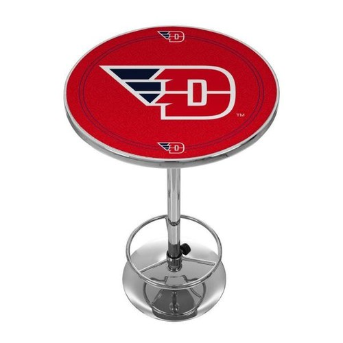 Trademark University of Dayton Chrome Pub/Bar Table