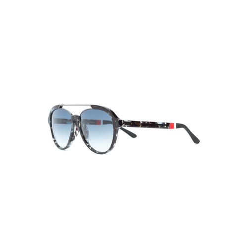 LINDA FARROW Orlebar Brown X  Aviator Sunglasses