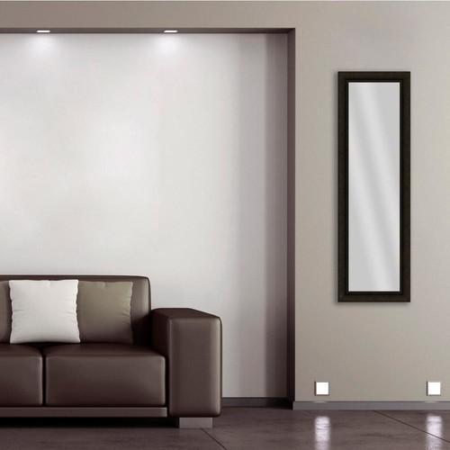 PTM Images 52.5 in. x 16.5 in. Dark Bronze Framed Mirror