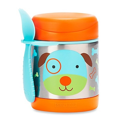 SKIP*HOP Zoo 11 oz. Insulated Food Jar in Dog
