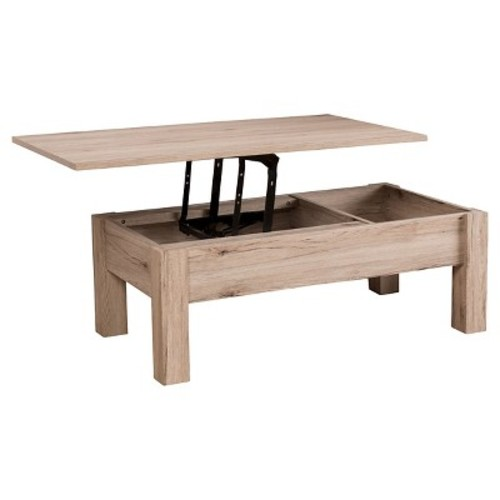 Lift Single Top Functional Coffee Table Natural - Christopher Knight Home