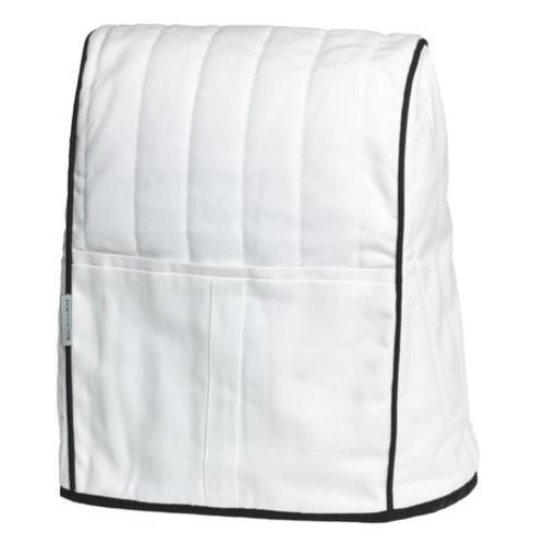 KitchenAid KMCC1WH Stand Mixer Cloth Cover - White [White]