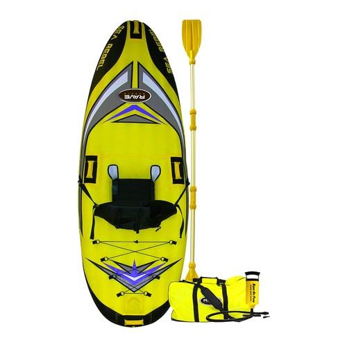Sea Rebel Kayak Package by RAVE Sports