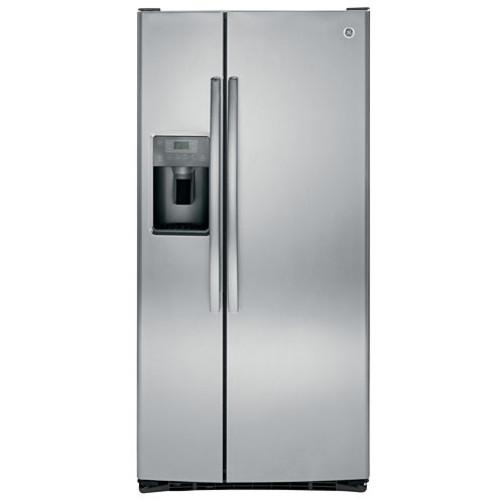 GE GSE23GSKSS ENERGY STAR 23.2 cu. ft. Side-By-Side Refrigerator