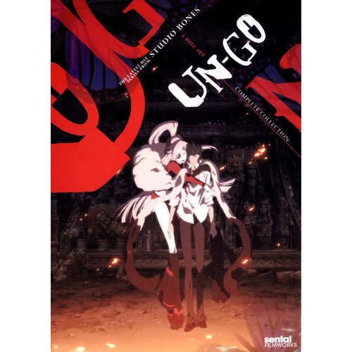 Un-Go: Complete Collection [3 Discs] [DVD]