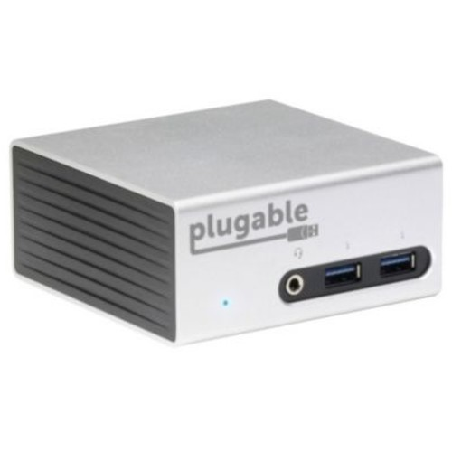 Plugable USB 3.0 4K Aluminum Mini Docking Station for Notebook/Tablet PC/Desktop PC (UD-5900)