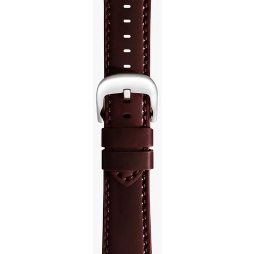 20mm Oxblood Cordovan Leather Strap